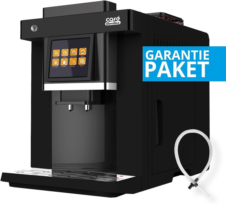50 € ahorrar + GARANTÍA DEL Paquete ✓ – Cafetera automática de ✓ Easy Touch ✓ LED Iluminación ✓ Café bonitas ✓ Pantalla Táctil ✓ Dual Hervidora ✓ 19 bar ✓ Cafetera Cafetera Café Espresso Latte: Amazon.es: Hogar