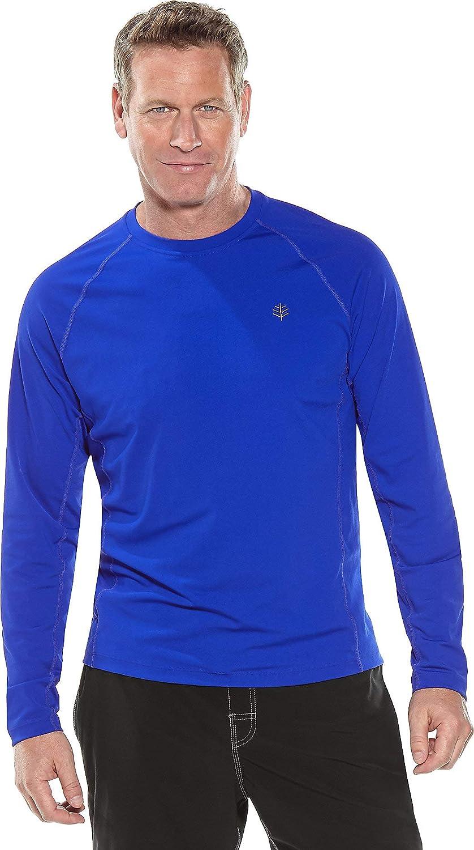 Coolibar Herren R/üschen Schwimmshirt UV-Schutz 50+