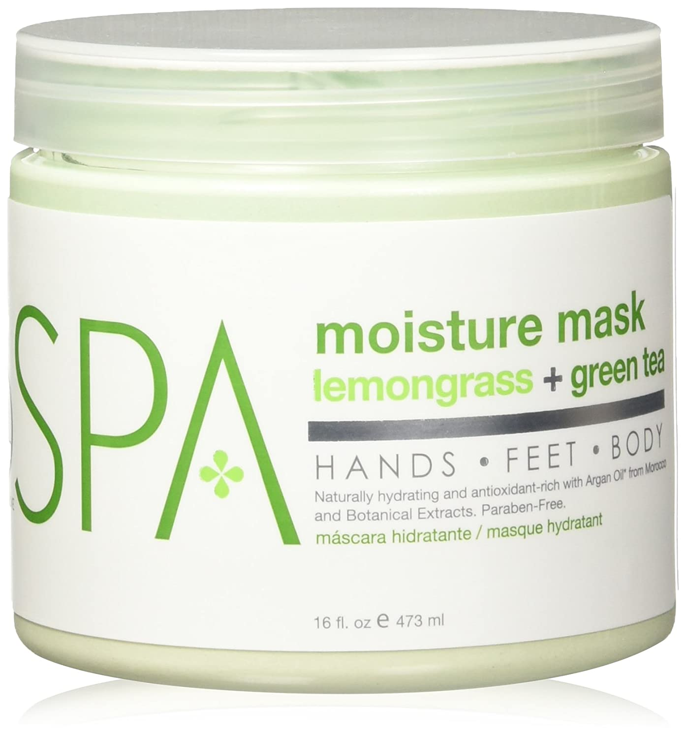 Amazon.com : BCL Spa Lemongrass and Green Tea Moisture Masque, 16 Ounce : Body Muds : Beauty