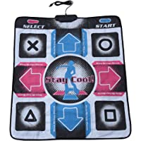 Bewinner Dance Pad for Kids Adults Non-Slip Durable Wear-Resistant Dancing Step Pad Musical Play Mat Dancer Blanket with USB Connection for PC/Windows 98/2000/ XP/ 7OS, Gifts for Kids