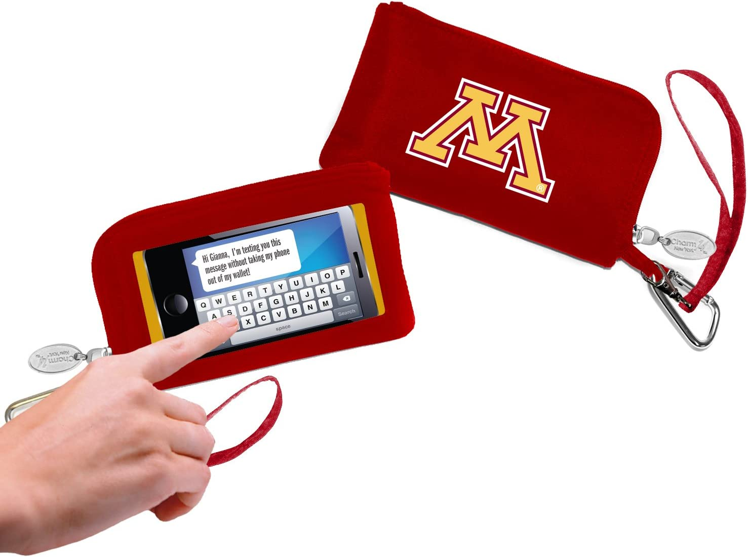 Charm14 NCAA Womens Cell Phone Wallet