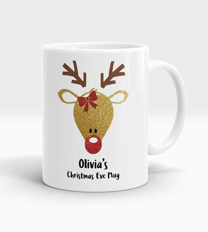 Personalised Christmas Eve Mug, personalised Christmas mug ...