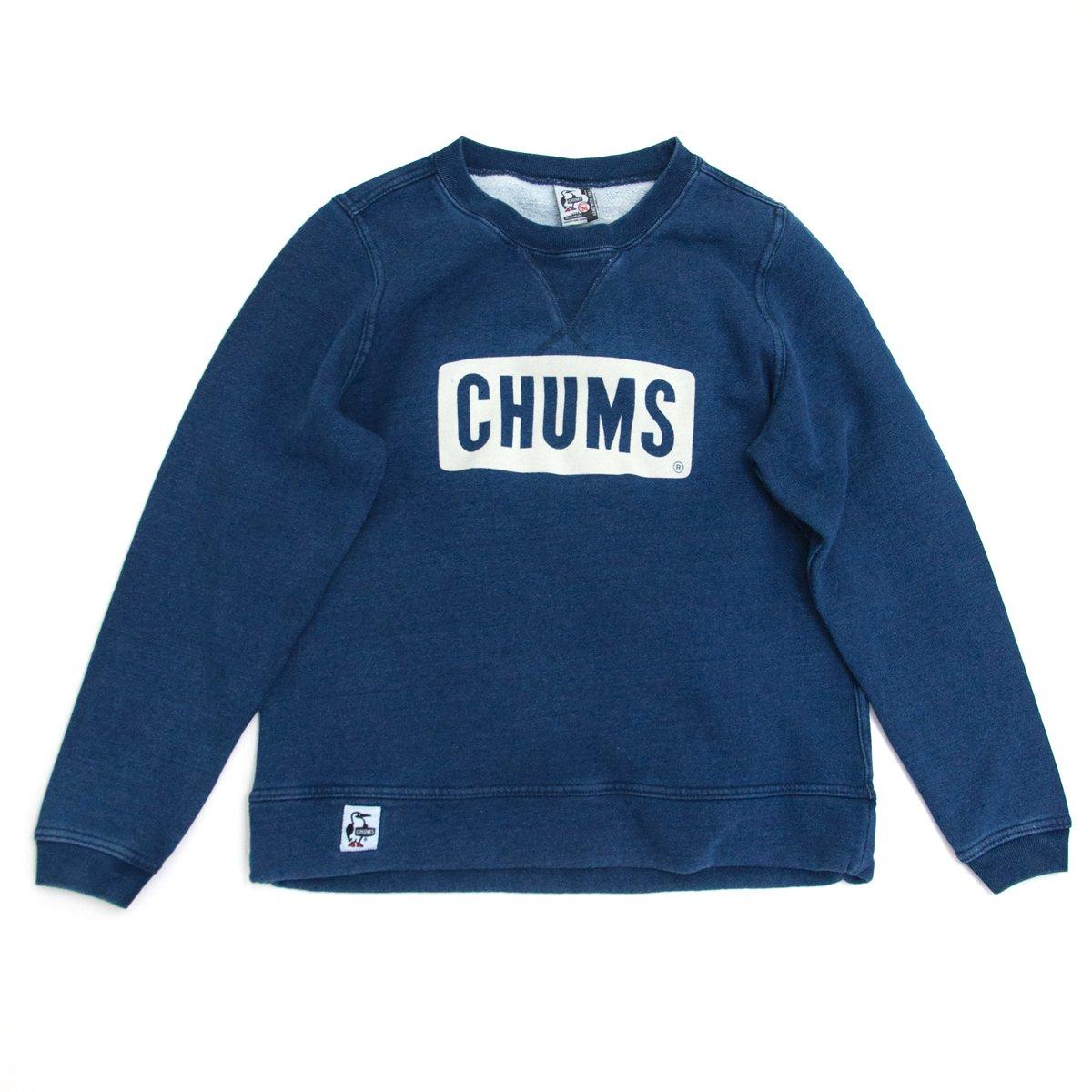 CHUMS チャムス レディース ボートロゴクルートップインディゴ[CH10-1096] B076DYDMFS  インディゴ