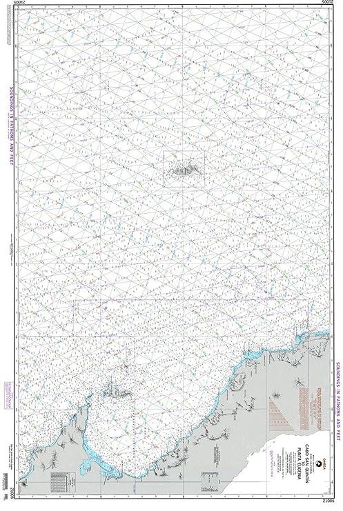 Amazon Com Nga Chart 21005 Cabo San Quintin To Punta Eugenia