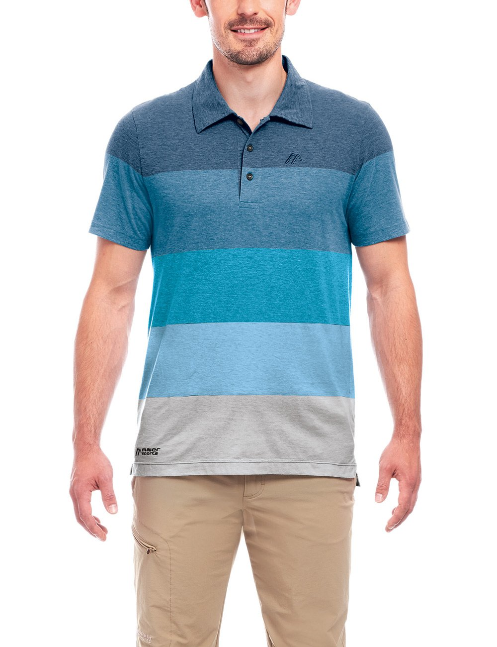 Maier Sports Herren Malbay Polo M Poloshirt