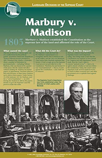 what was the importance of the marbury v madison case