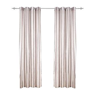 2 X Vorhang Osenschal Deko Moderne Vorhange 40 Leinen 60 Polyester