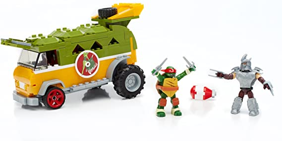 Amazon.com: Mega Bloks Teenage Mutant Ninja Turtles Party ...