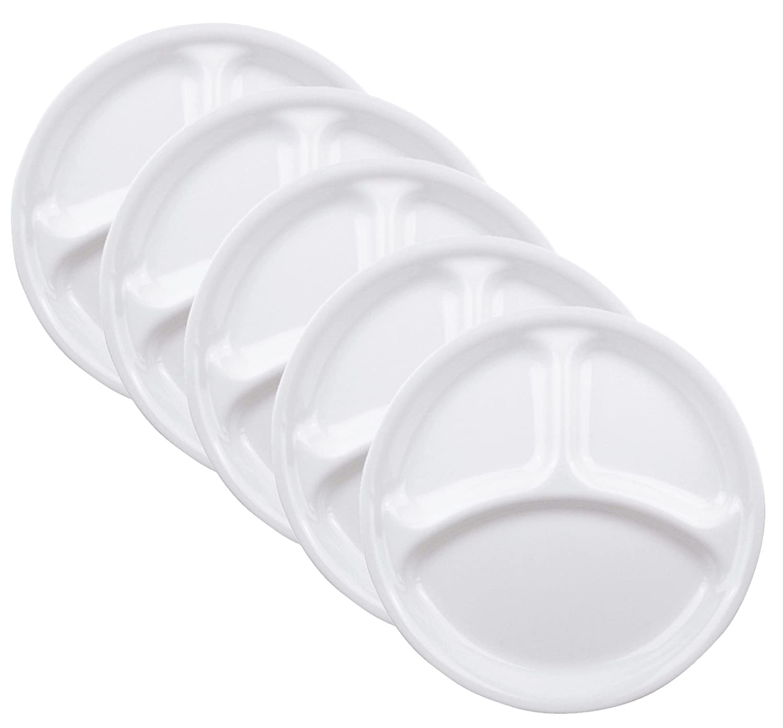 コレール プレート 皿 外径26cm 割れにくい 軽量 ウインターフロストホワイト ランチ皿(大) J310-N 5枚セット CP-9631 B00IAFYG9I ランチ皿(大) ランチ皿(大)