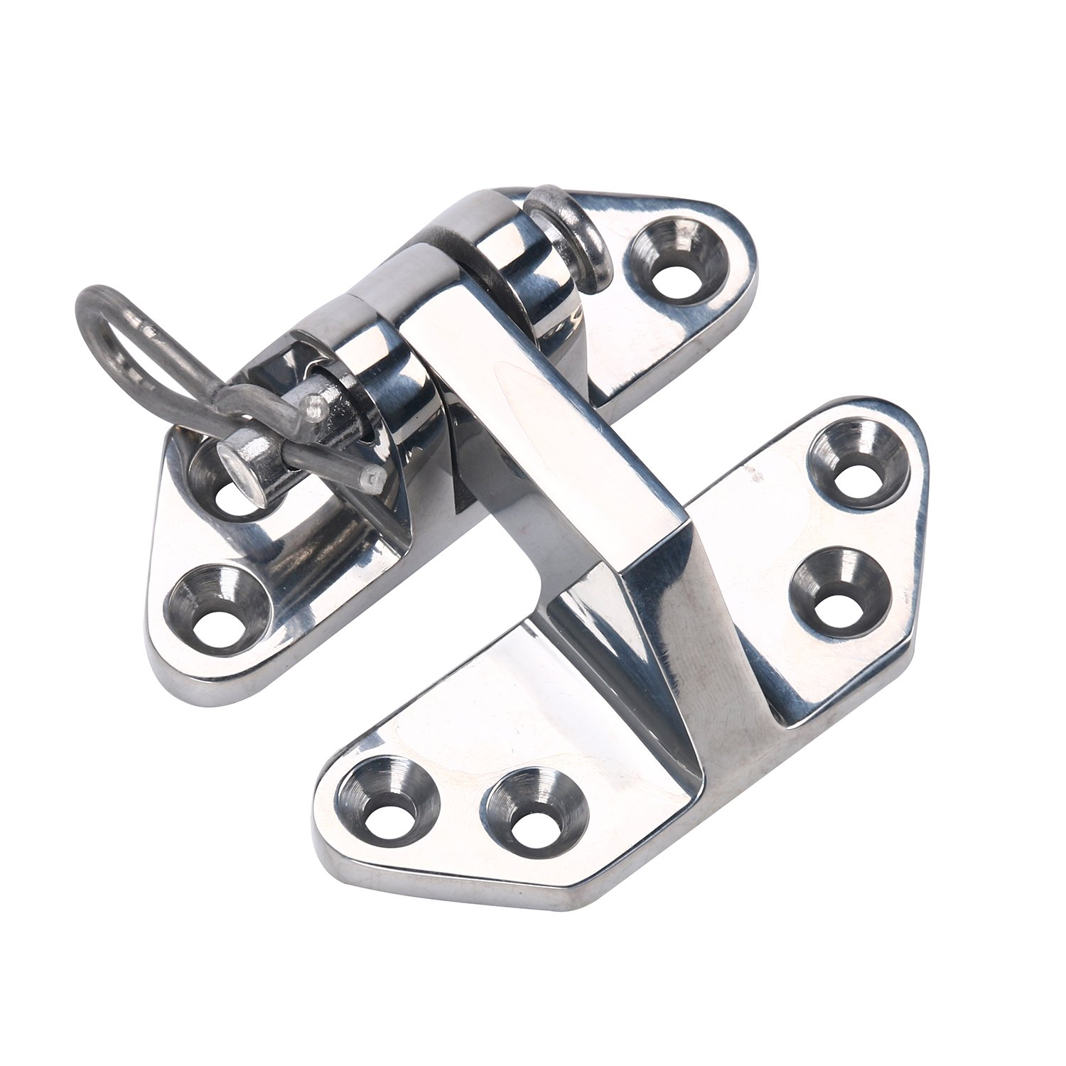 Amarine-made Heavy Duty Marine Stainless Steel Hatch Hinge 3'' x 2-3/4