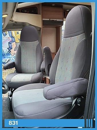 Kompatibel Mit Wohnmobil Fahrer Beifahrer Grau 831 Auto