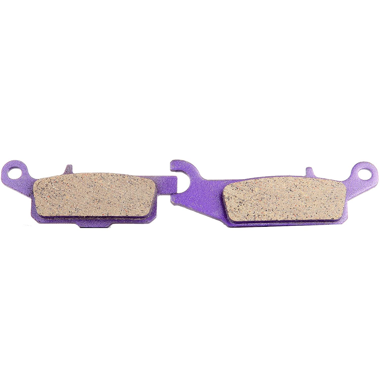 Pro Braking PBK2681-WHT-PUR Front//Rear Braided Brake Line White Hose /& Stainless Purple Banjos
