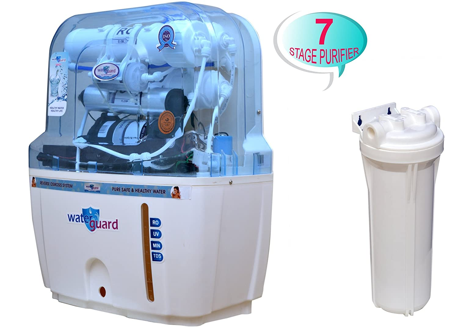Waterguard 7 Stage RO Water Purifier: Amazon.in: Home & Kitchen