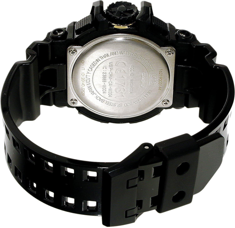 Casio Noireamp; Gba Bluetooth Doré Homme G 1a9er 400 Montre Shock E9H2WID