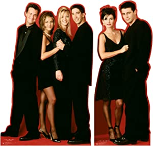 Advanced Graphics Friends Life Size Cardboard Cutout Standup - Friends TV Sitcom