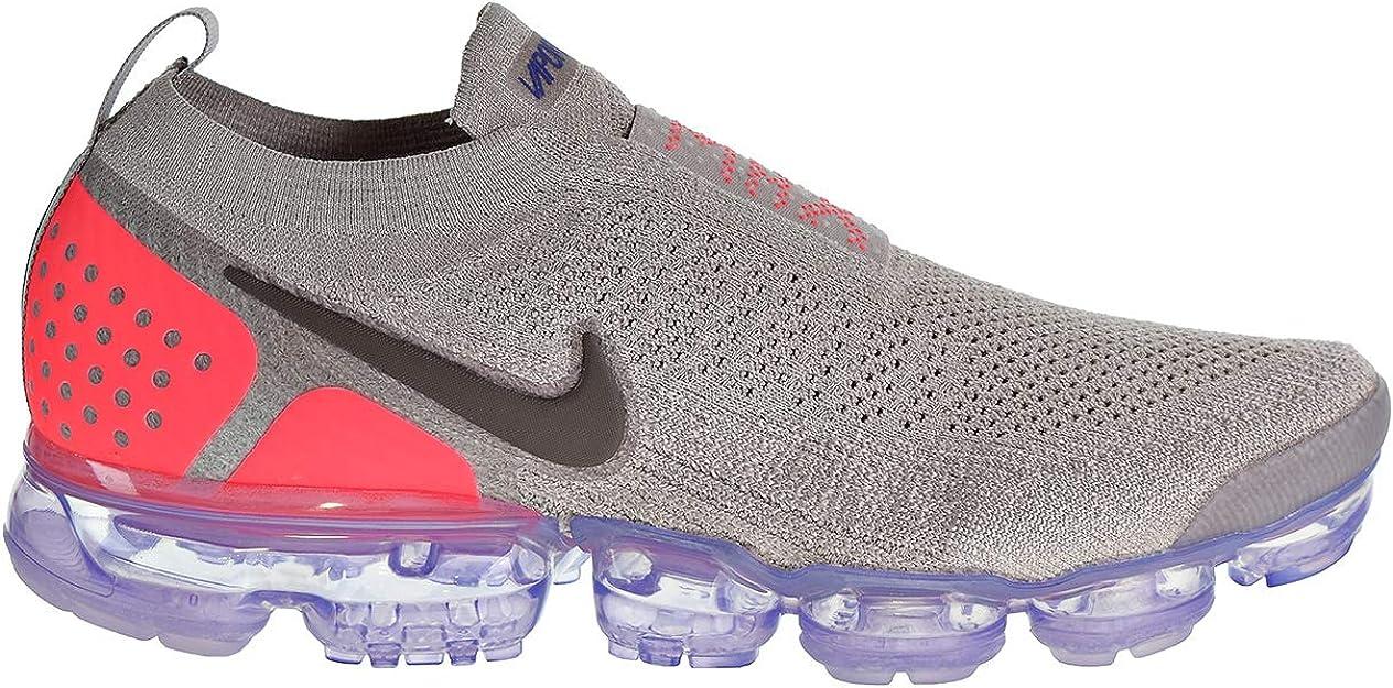 Nike Air Vapormax Flyknit MOC 2 Hombres Zapatos Moon Particle/Solar Rojo  ah7006-201