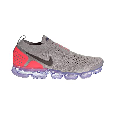 ba2e06688d45 Nike Air Vapormax Flyknit MOC 2 Men s Shoes Moon Particle Solar Red  ah7006-201