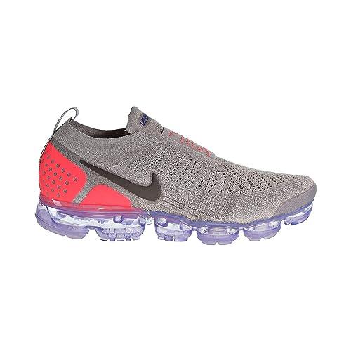 Nike Air Vapormax FK Moc 2, Zapatillas de Running Unisex Adulto, Gris (Moon Particle/Solar Red/Indigo Burst 201), 48.5 EU: Amazon.es: Zapatos y complementos