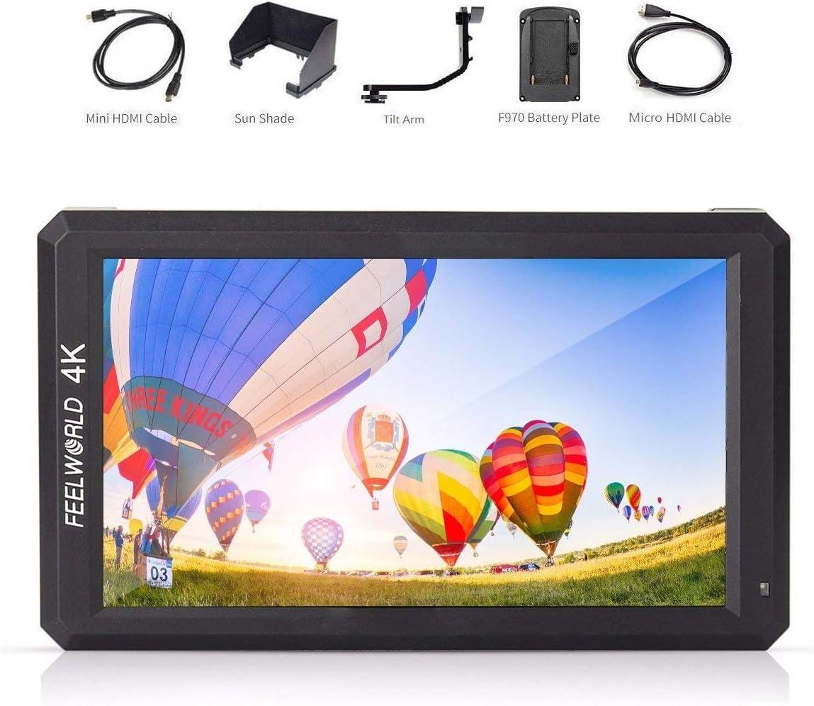 Feelworld F6 Monitor dslr, Monitor de Campo 4K HDMI 5.7