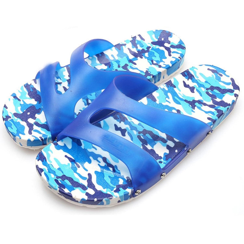 Voberry® Men's Slide Sandal Soft Home Slipper Summer Beach Camouflage Sandals