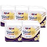 Ezee Velvet Tissue Paper Napkins - 100 Pieces (Pack of 5)