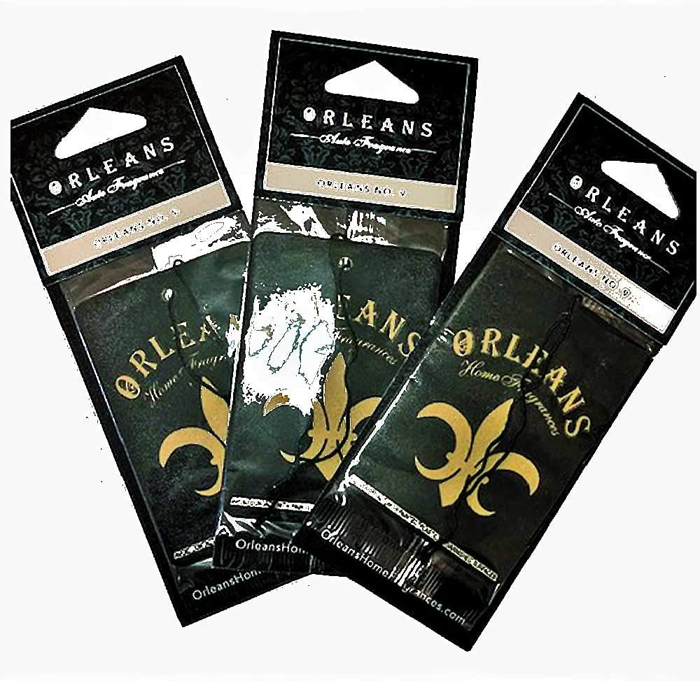 Orleans Auto Fragrance - Orleans #9 3 pack