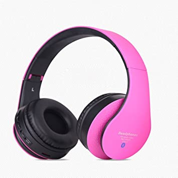 LQQAZY Auriculares Inalámbricos Soporte para Dispositivos Bluetooth Agudos Video PC/Teléfono / TV Auriculares,