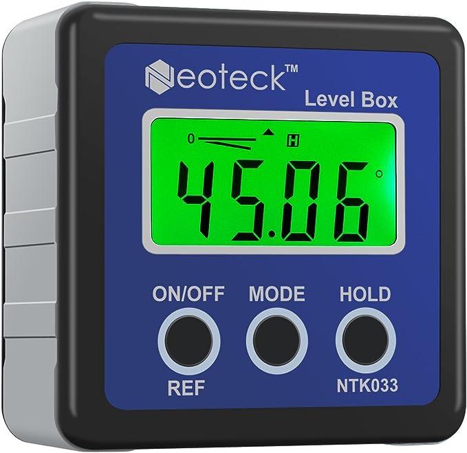 Neoteck Digital Medidor de Ángulos LCD Digital