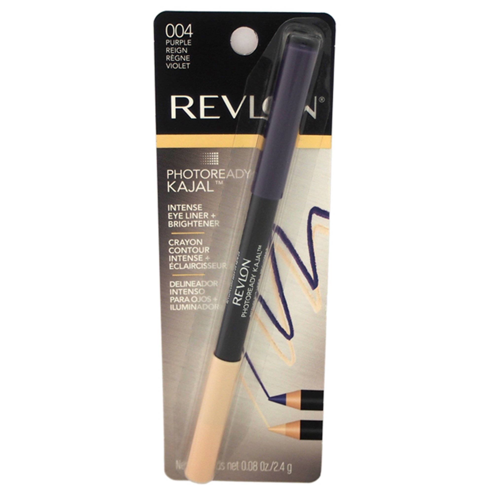 Revlon Photo Ready Kajal Intense Eye Liner & Brightener - Purple Reign - 0.08 oz