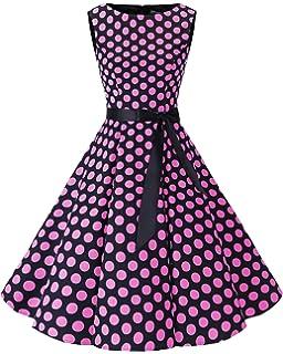 Bbonlinedress Women s Retro 1950s Vintage Swing Rockabilly Party Cocktail  Dress 613a5307533