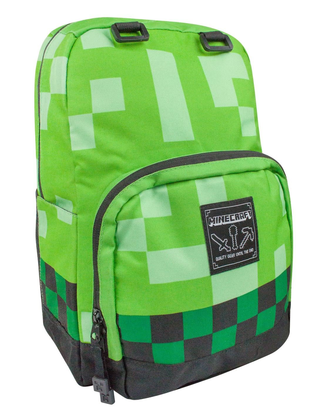Minecraft Green Creeper Backpack