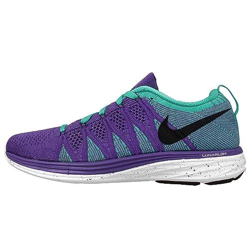 398b3afb5c110 Nike Flyknit LUNAR2 Women s Running SHOES-620658-501-SIZE-6 UK Purple   Amazon.in  Shoes   Handbags