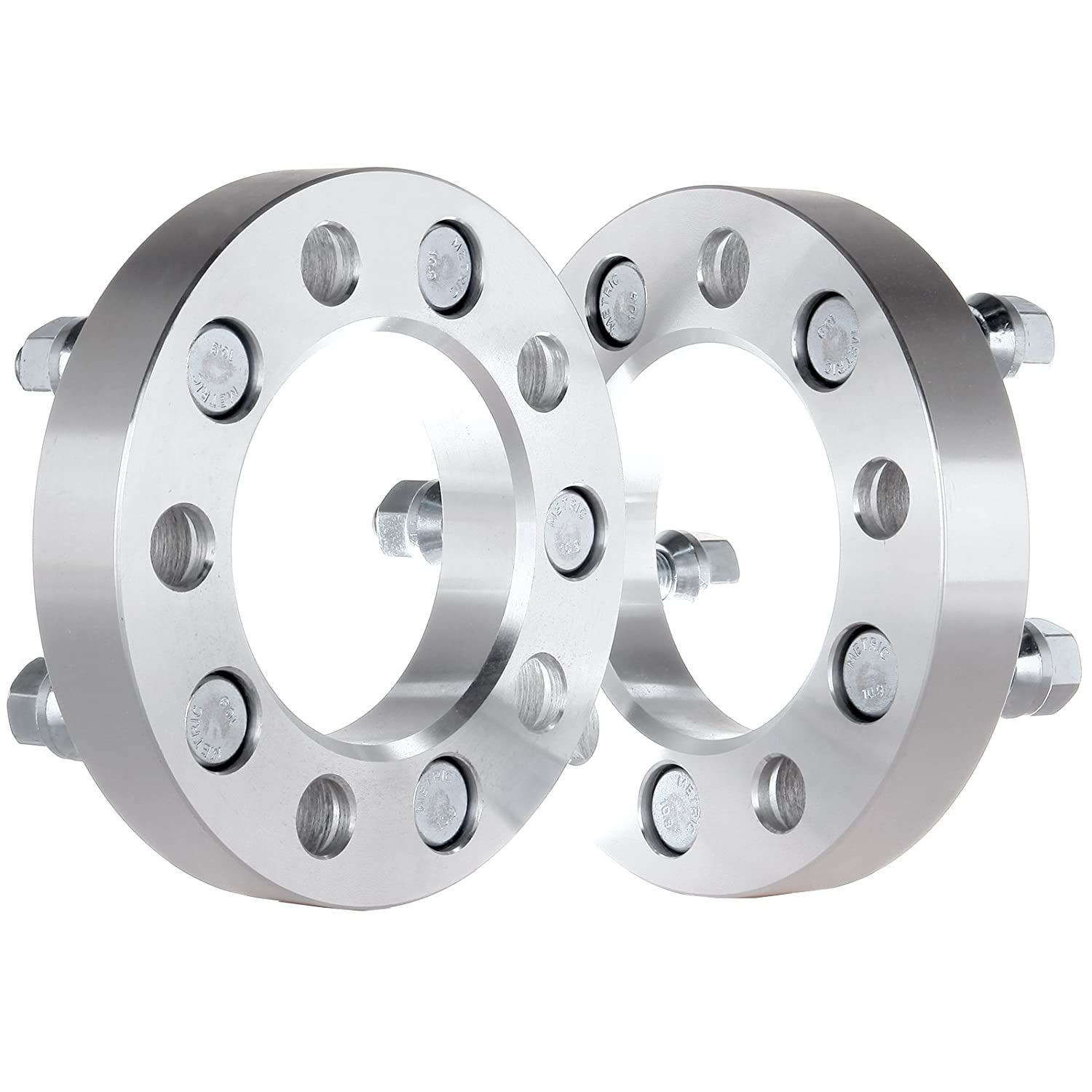 ECCPP 5x100 to 5x112 Wheel Spacers Adapters 1' 5x100mm to 5x112mm | 57.1 H.B 4X for Subaru Forester Legacy Outback Impreza 2003-2015 with Conversion Studs 12x1.5 BHBU0503A4657