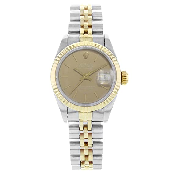 Rolex Datejust 69173 - Reloj de pulsera para mujer (acero fundido, 26 mm,