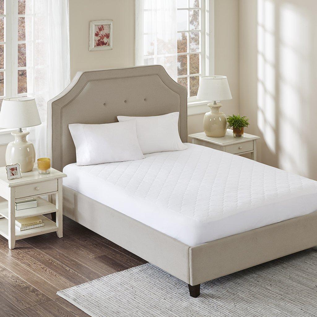 amazoncom sleep philosophy all natural cotton filled mattress pad queen home u0026 kitchen