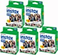 Fujifilm Lot de 5 packs de 20 films Fujifilm Instax Wide pour appareils Fuji Instax 210 100 photos