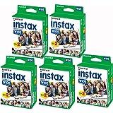 Fujifilm Instax–Lot de 5Boxen von 20Schuppen (100Fotos Format breit) für Fuji Instax 210