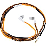 Parallel Universe In-Ear Headphones with Mic & Volume controller for All Mobile Phones (Orange)