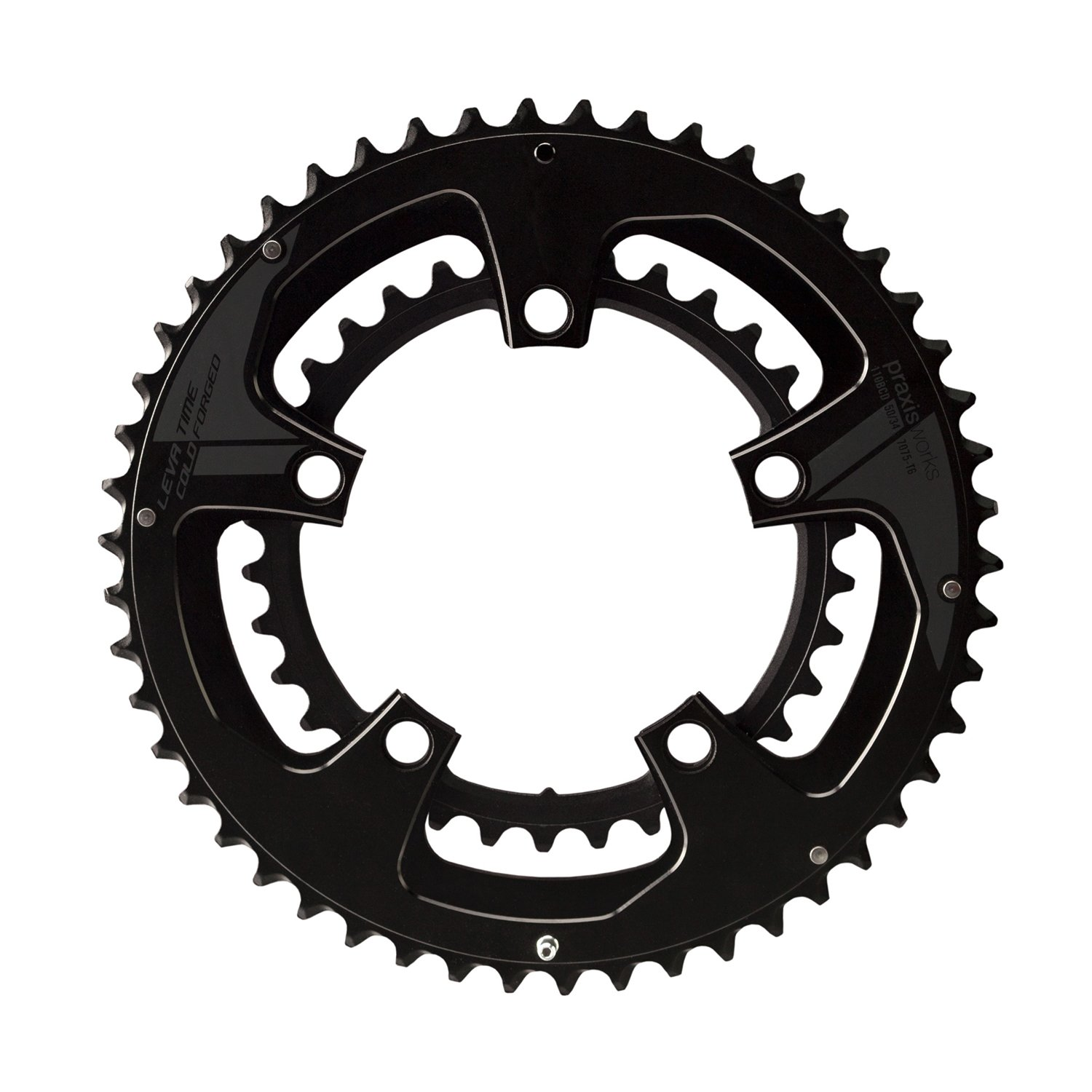 Praxis Works Buzz Road 53 / 39t 130-bcd Chainring B077Q43739