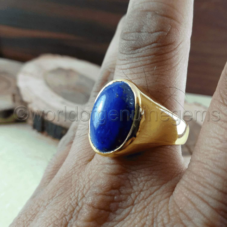 Lapis lazuli perlas 8mm alrededor de naturaleza Edelstein semipreciosas lapis lazuli Best g427