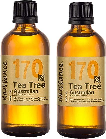 Naissance Árbol de Té Australiano - Aceite Esencial 100% Puro - 200ml (2x100ml): Amazon.es: Belleza