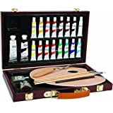 Darice 1103-083 Studio 71, 27 Piece Acrylic Painting Set, Wood Box