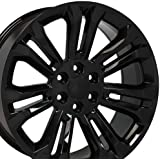 amazon oe wheels 20 inch fits chevy silverado tahoe gmc sierra 12 Chevy Spark oe wheels 22 inch fit chevy silverado tahoe gmc sierra yukon cadillac escalade cv43 black 22x9