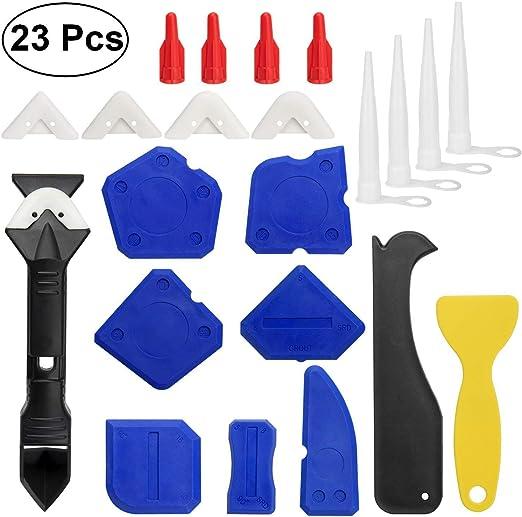 Coin silicone Grout Remover Grattoir calfeutrage Coulis de nettoyage Tool Kit