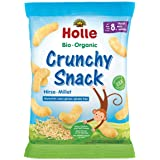 Holle Organic Millet Crunchy Snack, 25g