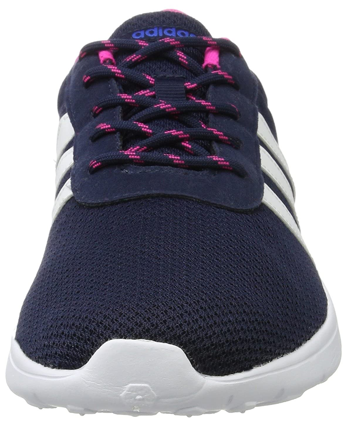adidas Damen Lite Racer W Sneaker Low Hals Blau (Maruni