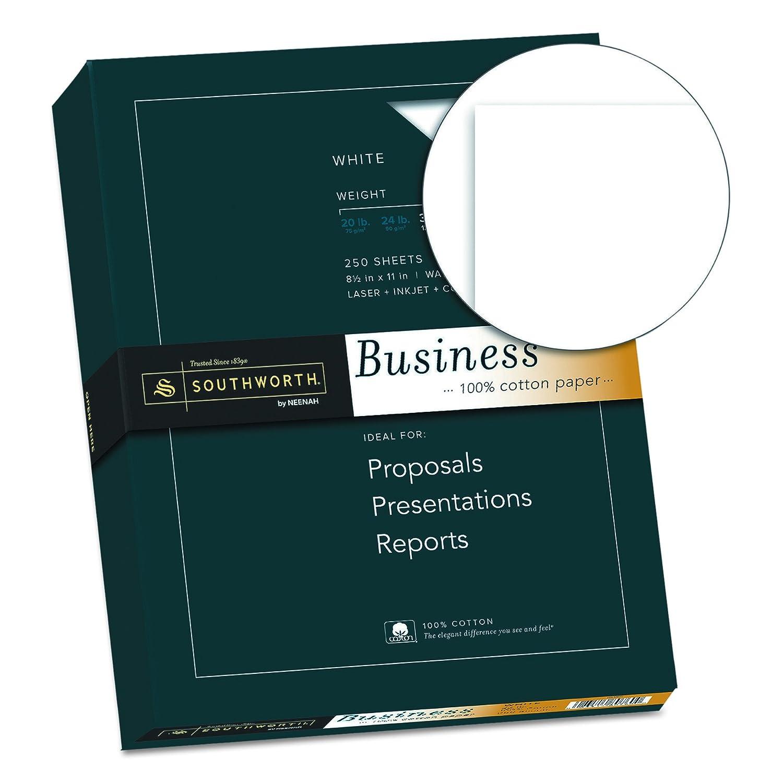 Amazoncom Southworth 100 Cotton Business Paper