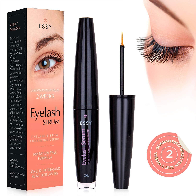 EssyNaturals Eyelash and Brow Growth Serum Irritation Free Formula