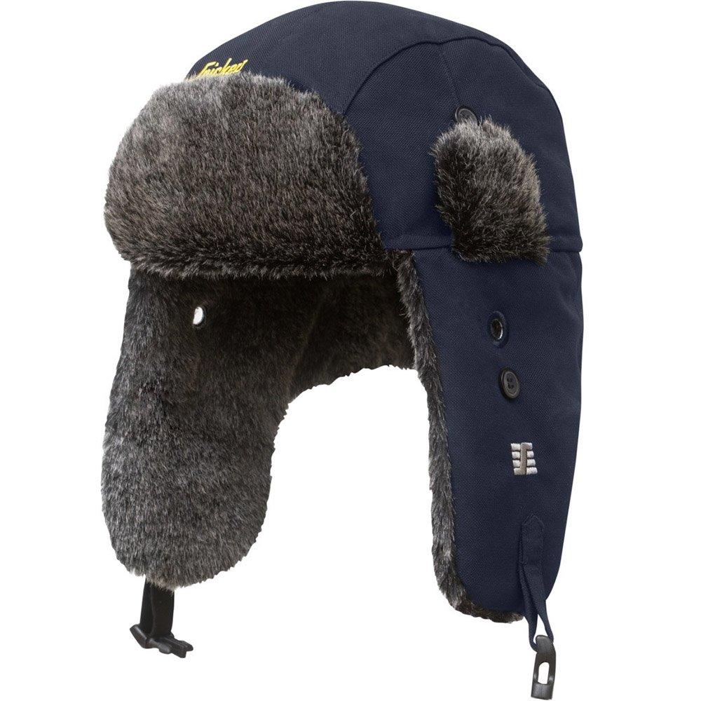 Snickers Workwear 9007 RuffWork Trapper Mü tze mit Ohrenklappen, schwarz, L/XL 90070400007