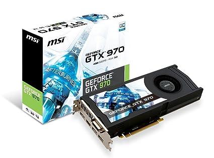MSI GeForce GTX 970 4GB OC DirectX 12 VR READY, GTX 970 4GD5 OC